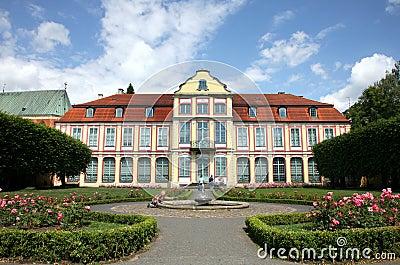 Gdansk Oliwa ( Oliva ) in Poland. Residence of Abb