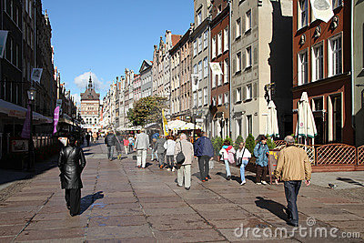 Gdansk, Poland Editorial Stock Photo