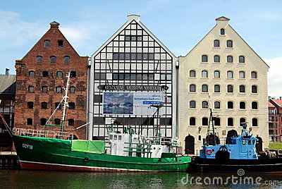 Gdansk, Poland: Central Maritime Museum Editorial Photo