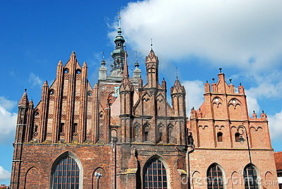 Gdansk, Poland: Church of St. Catherine