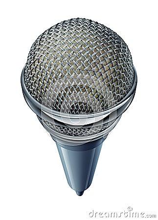 Geïsoleerde microfoon