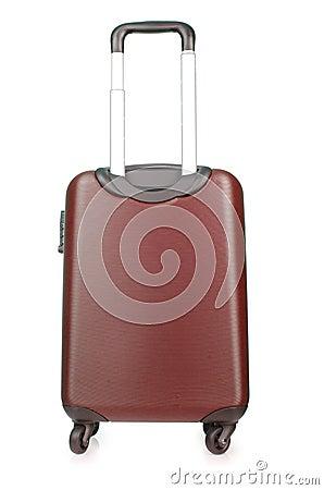 Geïsoleerdeb de bagage van de reis