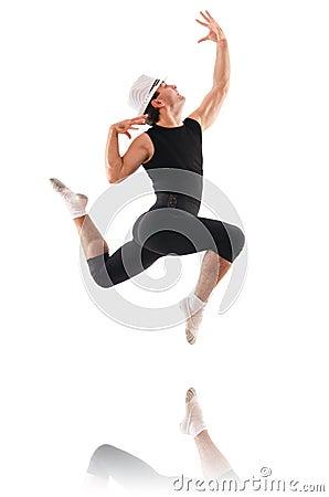 Geïsoleerdeg danser