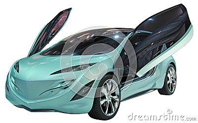 Geïsoleerder de coupé van het concept