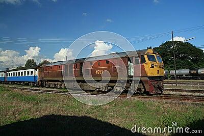 Ge (GEA)  locomotive Editorial Photography
