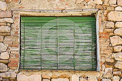 Gealtertes Fenster