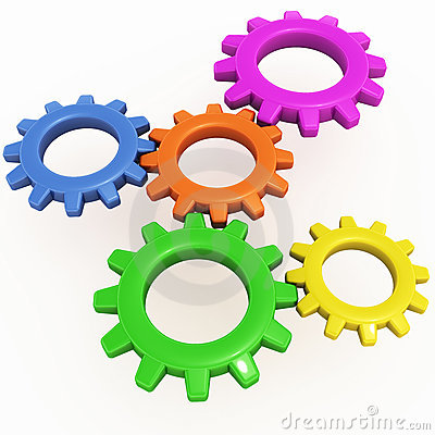 Gear cogs machinery
