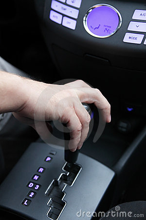Gear lever car
