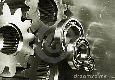 Gear-machinery in bronze