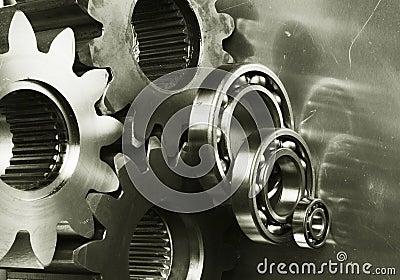Gear-machinery in bronze