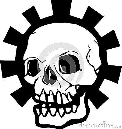 Gear Skull Halo