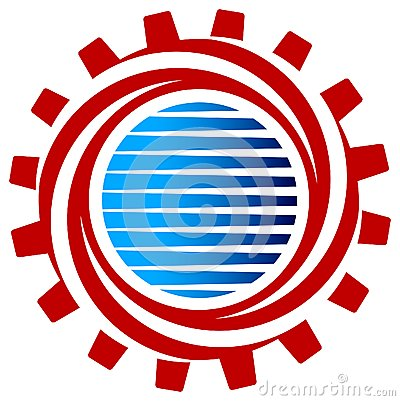 Gear Swirl Royalty Free Stock Photography - Image: 25147817