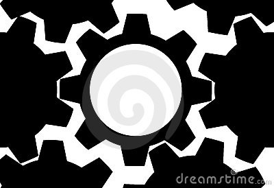 GEAR Technology gears background copy space