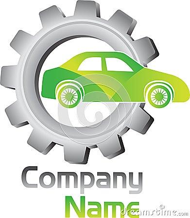 Gear vehicle logo
