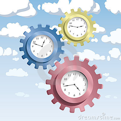 Gear & Watches Royalty Free Stock Images - Image: 16858589