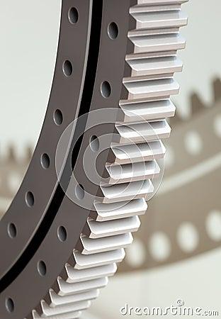 Free Gear Wheel Royalty Free Stock Photo - 25240765