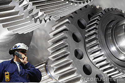 Gear wheel machinery and engineer