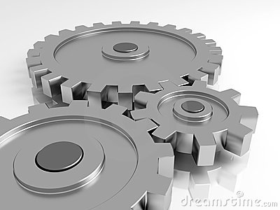 Gear Wheels Royalty Free Stock Photos - Image: 12852068