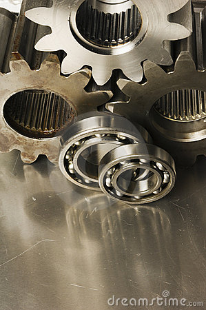 Gear-wheels and ball-bearings