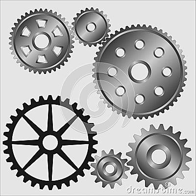 Free Gears. Stock Image - 1832061
