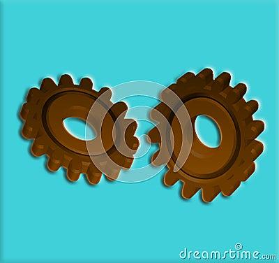 Gears 7 Cogs