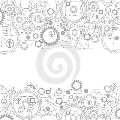 Free Gears Backgrounds Stock Photos - 22835373