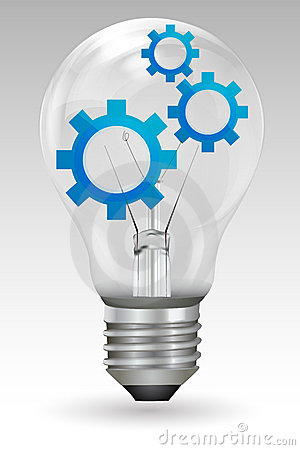 Gears in bulb