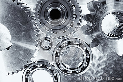 Gears, cogs and ball-bearings