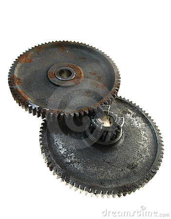 Free Gears Cogs Rusty Royalty Free Stock Image - 732096