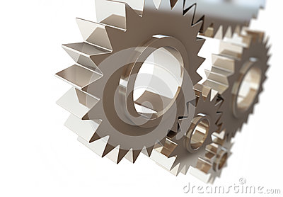 Gears concept background,machine gear
