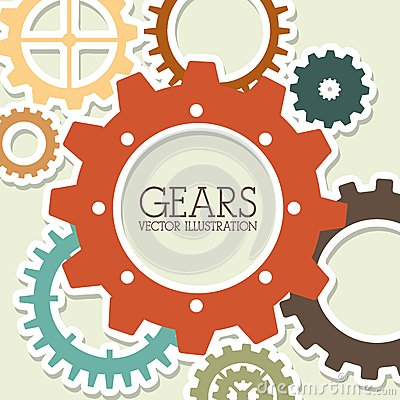 Free Gears Design Royalty Free Stock Photography - 35811517