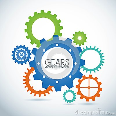 Free Gears Design Stock Image - 35811541