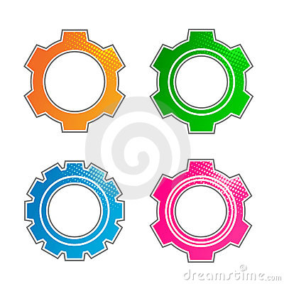 Gears elements set