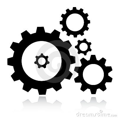 Free Gears Icon Royalty Free Stock Image - 8866856