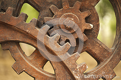 Gears in Industry Remains Park