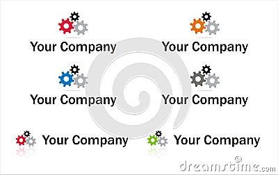 Gears logo element