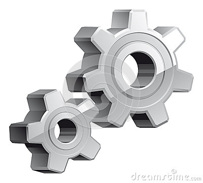 Gears settings icon