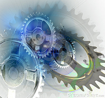 Free Gears Turning Royalty Free Stock Image - 4293646