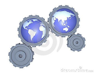 The gears of the world