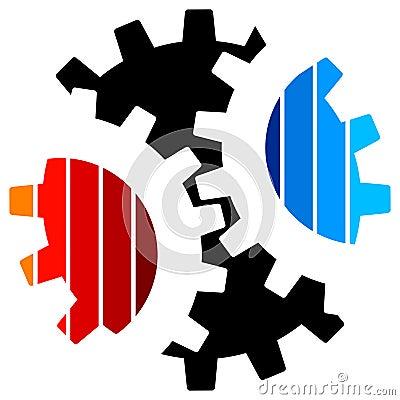 Gearwheel logo