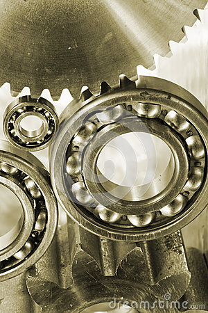 Geas, cogs and ball-bearings