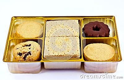 Geassorteerde zandkoek