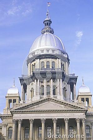 Geben Sie Kapitol von Illinois an