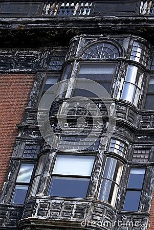 Gebeugte Fenster