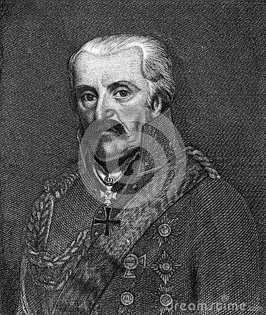 Gebhard Leberecht von Blucher Editorial Photo