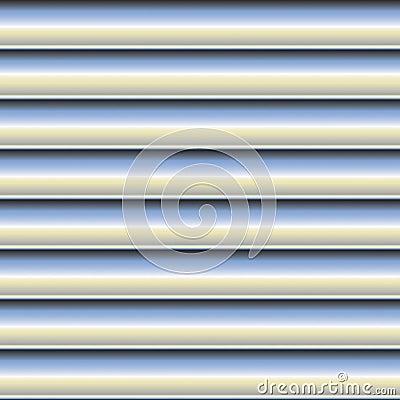 Gebogenes Blech-Muster