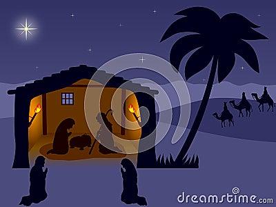 Geburt Christi. Das Wisemen
