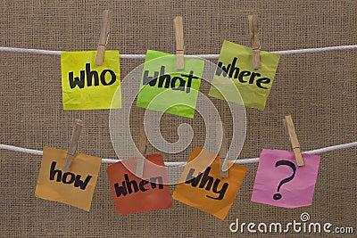 Gedanklich lösen - unaswered Fragen