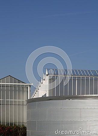 Geeenhouse water tank