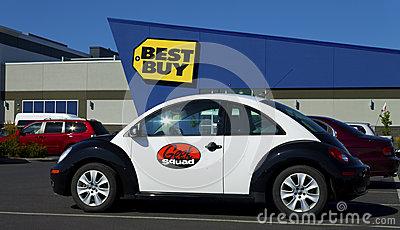 Geek Squad car Editorial Image